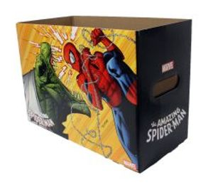 SPIDER-MAN -  200 COMICS CARDBOARD BOX -  AMAZING
