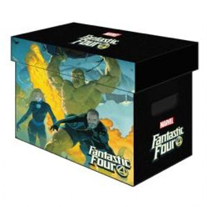 FANTASTIC FOUR -  200 FANTASTIC FOUR COMICS CARDBOARD BOX
