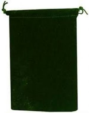 POUCH -  SMALL GREEN CLOTH BAG