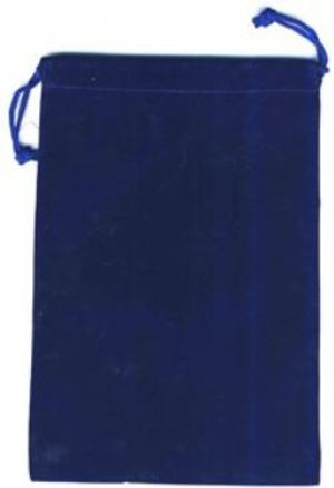 POUCH -  BIG BLUE CLOTH BAG
