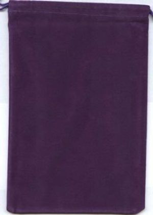 POUCH -  BIG VIOLET CLOTH BAG