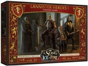 A SONG OF ICE AND FIRE -  LANNISTER HEROES 1 (ENGLISH)