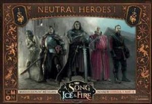 A SONG OF ICE AND FIRE -  NEUTRAL HEROES 1 (ENGLISH)