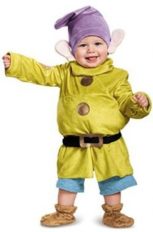 SNOW WHITE AND THE SEVEN DWARFS -  DOPEY COSTUME (CHILD)