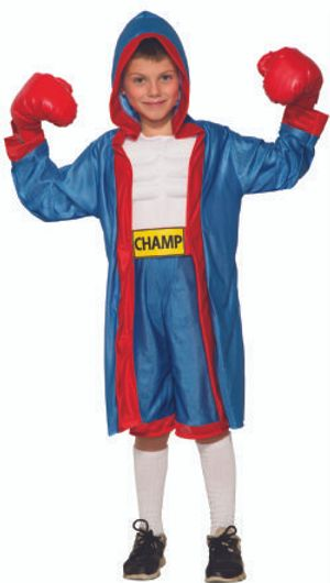 SPORTS -  BOXER COSTUME (CHILD)