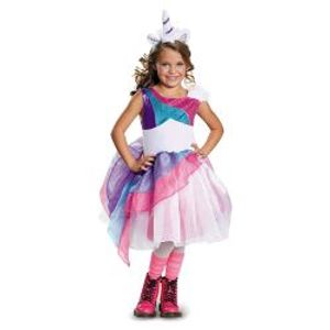 ANIMALS -  UNICORN PRINCESS COSTUME (CHILD)