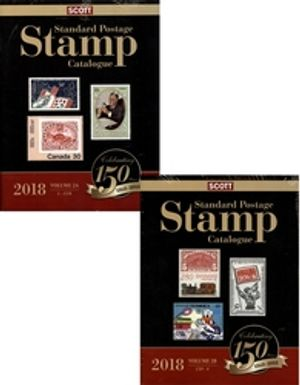 WORLD STAMPS -  2018 STANDARD POSTAGE STAMP CATALOGUE (C-CUR AND CYR-F) 02