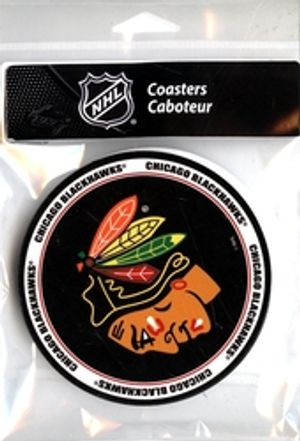 CHICAGO BLACKHAWKS -  4 PACK COASTER SET