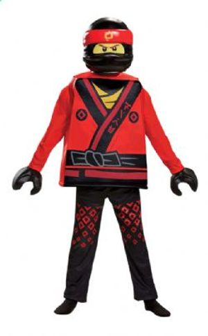 NINJAGO -  DELUXE KAI COSTUME (CHILD)