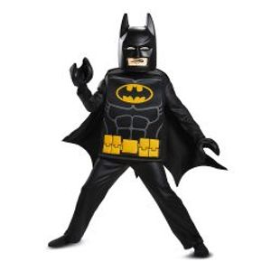 BATMAN LEGO MOVIE -  DELUXE BATMAN COSTUME (CHILD)