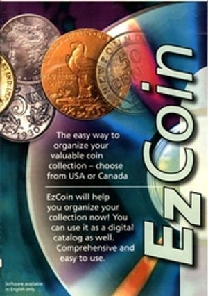 EZ COIN -  COINS COLLECTING SOFTWARE FOR CANADA AND UNITED STATES