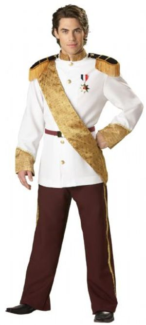 CINDERELLA -  PRINCE CHARMING COSTUME (ADULT) -  DISNEY'S PRINCESSES