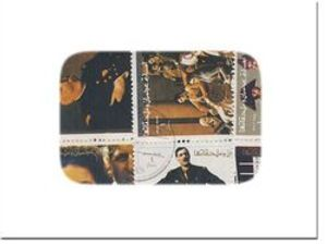 FAMOUS PEOPLE -  100 ASSORTED STAMPS - FAMOUS PEOPLE