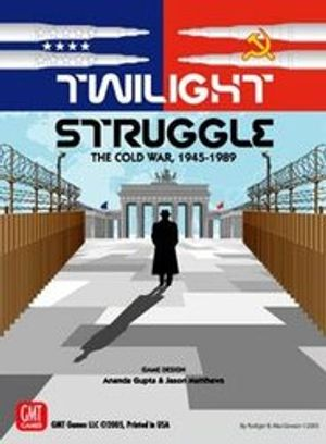 TWILIGHT STRUGGLE -  TWILIGHT STRUGGLE - DELUXE - THE 	