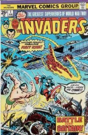 INVADERS -  INVADERS (1975) - VERY FINE - 8.0 01