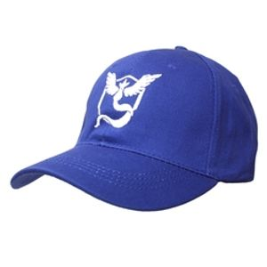 POKEMON -  TEAM MYSTIC ADJUSTABLE  CAP - BLUE & WHITE -  POKEMON GO