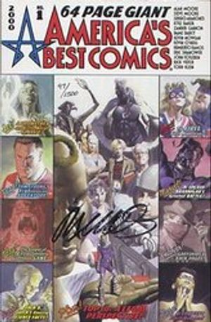 AMERICA'S BEST COMIC SPECIAL -  SIGNED COMIC BY HUMBERTO RAMOS - #1 2000 (1500 EXP)