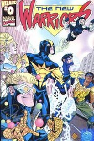 NEW WARRIORS, THE -  SIGNED COMIC BY STEVE SCOTT - #0 1999 (??? EXP)
