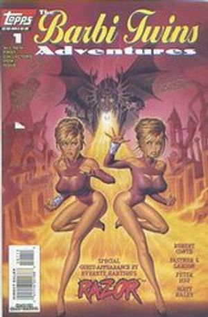 BARBI TWINS ADVENTURES, THE -  SIGNED COMIC BY STEVE FASTNER & RICK LARSON - #1 1995 (400 EX)