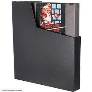 PROTECTOR BOX -  BLACK PLASTIC PROTECTORS FOR NES CARTRIDGE