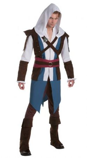 ASSASSIN'S CREED -  COSTUME DE EDWARD KENWAY (ADULTE)