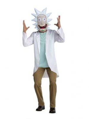 RICK ET MORTY -  COSTUME DE RICK SANCHEZ (ADULTE)