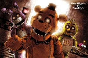 FIVE NIGHTS AT FREDDY'S -  FIVE NIGHTS AT FREDDY'S - SCARE POSTER (22