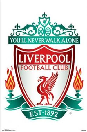 LIVERPOOL FC -  LOGO POSTER (22