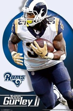 LOS ANGELES RAMS -  TODD GURLEY POSTER (22