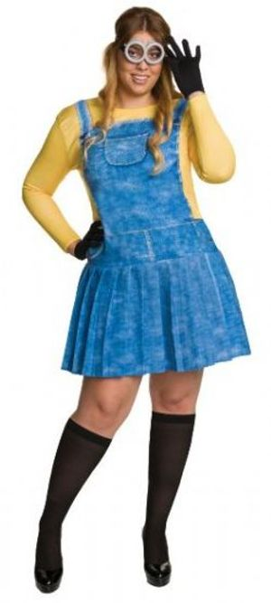 DESPICABLE ME -  FEMALE MINION COSTUME (ADULT) -  MINIONS