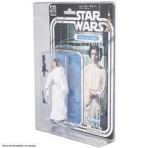 PROTECTOR BOX -  CLEAR PLASTIC PROTECTORS FOR STAR WARS 40TH LEGACY FIGURE (6