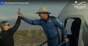 Missione compiuta per Jeff Bezos. Volo nello spazio, andata e ritorno