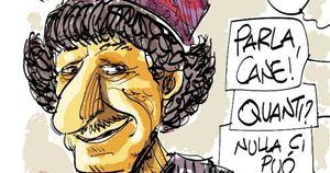 Khasha Zwan, in morte di un comico