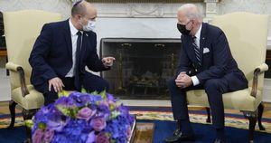 Durante il loro primo incontro Biden e Bennett si fanno promesse