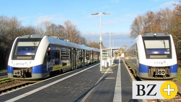 Rasen die Erixx-Lokführer in Rötgesbüttel?