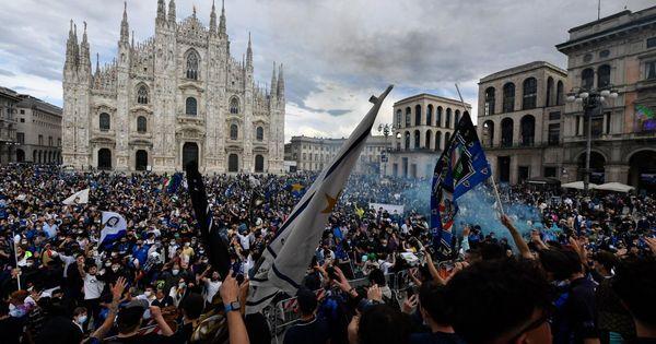 Milano, rischio Covid: migliaia di persone in piazza tra Ddl Zan e festa dell'Inter. La questura: Non più di 8 mila