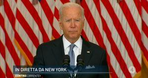 Afghanistan, Biden in conferenza stampa: