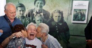 Il soldato Martin Adler, veterano della II guerra mondiale, ha incontrato a Bologna gli italiani che salvò da bambini