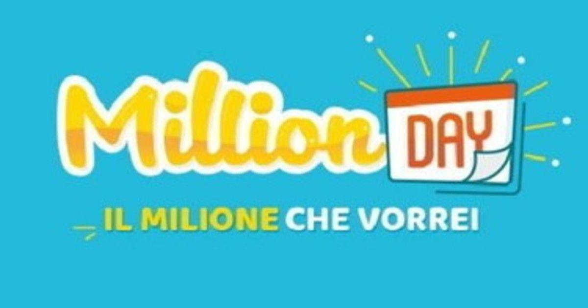 Million Day, numeri vincenti dell'estrazione di oggi domenica 29 agosto 2021