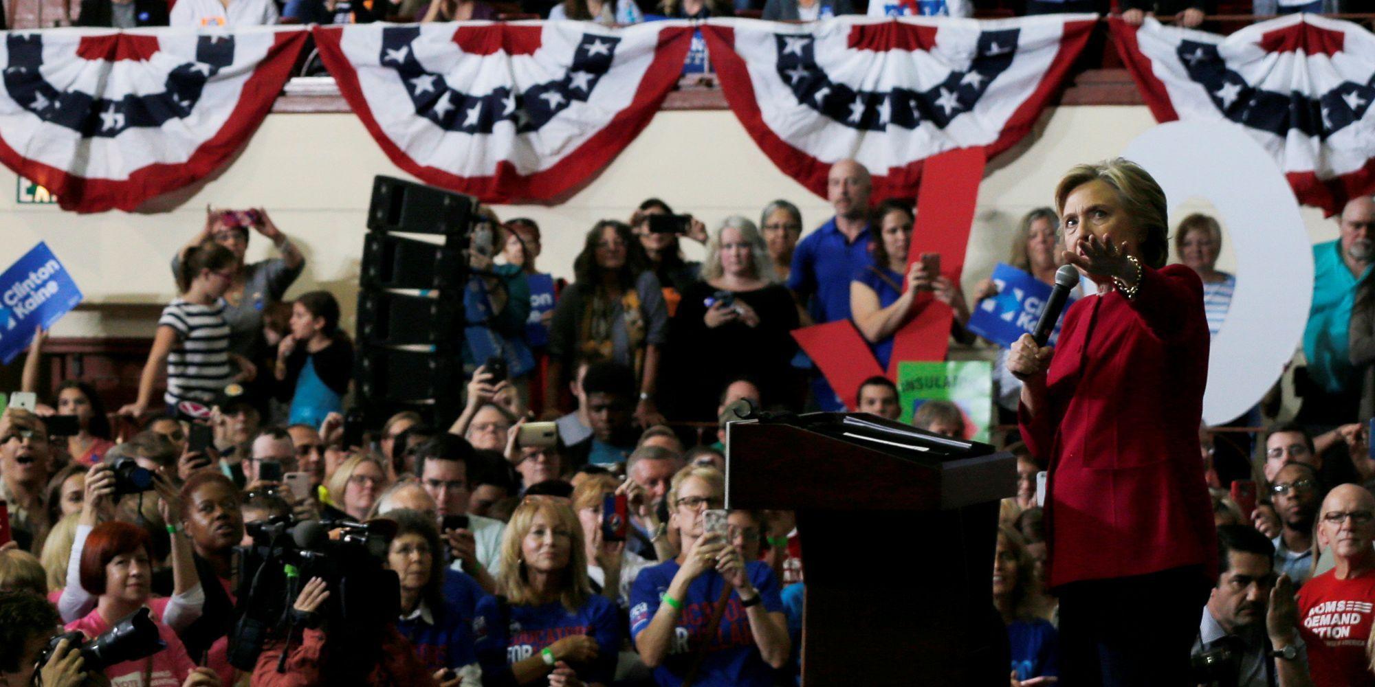 Democrats Are Rallying Around Hillary Clinton