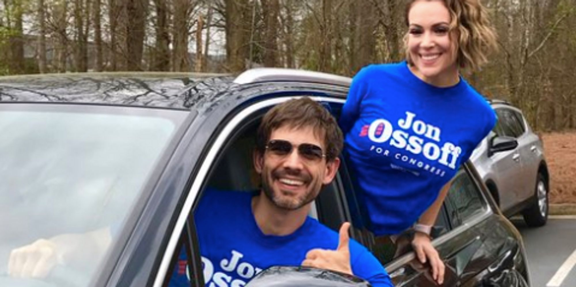 Alyssa Milano Wants To Drive You To The Polls In Georgia