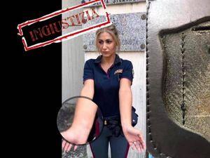 La poliziotta licenziata: