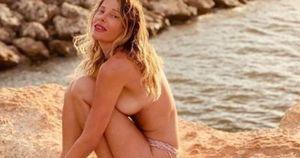 Alessia Marcuzzi è in mutande, cosa le combina il marito