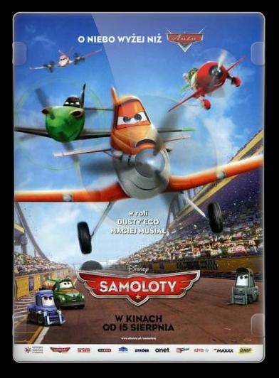 Samoloty / Planes (2013) PLDUB.BRRip.Xvid-KiT / Dubbing PL