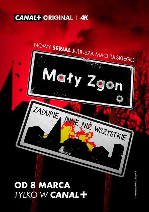 Mały Zgon (2020) [Sezon 1]  PL.480p.WEBRip.XviD-H3Q / Polski Serial