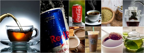 surprising caffeine content in 10 common drinks
