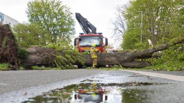 Tief Eugen wütet mit Sturmböen in Teilen Deutschlands