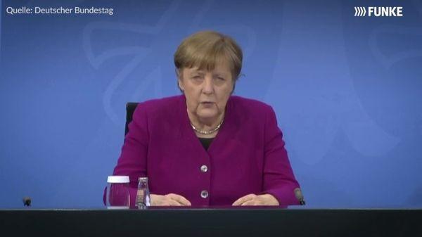 Kanzlerin Merkel nach Corona-Gipfel am 3. März