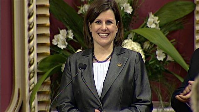 Stéphanie Vallée nommée ministre de la Justice