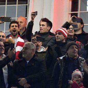 Джокович сбъдна мечтата си да гледа Звезда на живо в ШЛ
